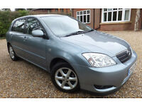 Toyota Corolla 1.6 T Spirit 5 door petrol. Hatchback. Emaculate. With 4 extra tyres (winter)