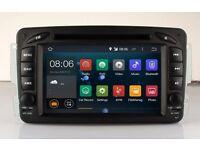 Mercedes-Benz C-W203/CLK-W209 Car CD DVD Player Android 4.4 /GPS/4G internet Full Hd Model