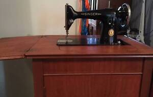 201K Singer Sewing Machine with Cabinet Carina Heights Brisbane South East Preview