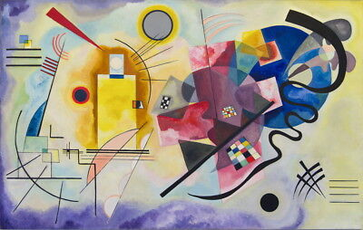 Wassily Kandinsky Jaune Rouge Bleu Giclee Canvas Print Paintings Poster for sale  Shipping to Canada