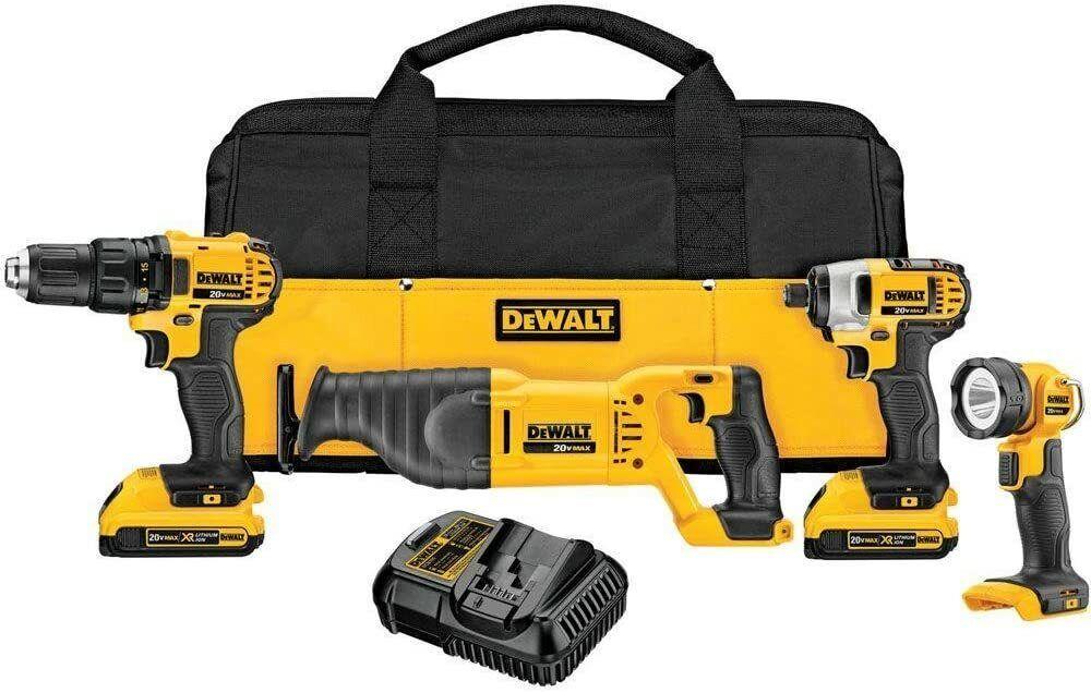 Dewalt DCK420D2 4-Tool 20-Volt MAX Lithium-Ion Cordless Comb