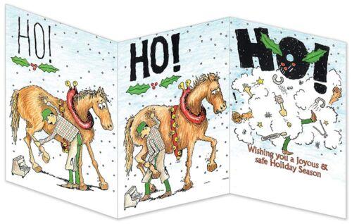 Ho! Ho! Ho! Farrier Blacksmith Horseshoer Christmas Cards