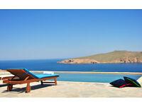 Villa for 12 people in Mykonos Greece