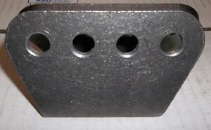 """1/4"""" THICK H/D 4 HOLE MOUNTING PLATE, SHOCKS, TRAC ARMS, 4 LINK, Belleville Belleville Area image 3"""