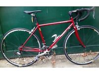 48cm Pearson Reynolds 631 lightweight Small frame Shimano Ultegra road race bike racing bicycle