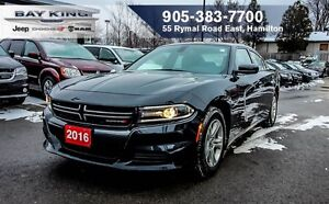 2016 Dodge Charger SE, 3.6L V6, BLUETOOTH, KEYLESS ENTER N'GO