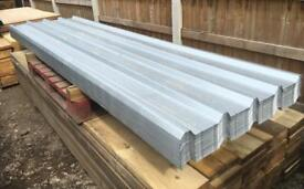 🛠 3.6M Galvanised Box Profile Roof Sheets ~ New
