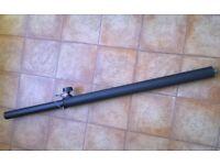 Adjustable PA Speaker Pole 35mm to M20 20mm Threaded Base