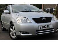 Toyota Corrolla VVTI-T3 1.6 Litre Petrol. Excellent Condition. Automatic Transmission.