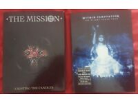 2x Music Dvd's within temptation + the mission