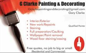 G Clarke Painting and Decorating