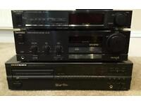 Surplus stereo equipment. Excellent condition