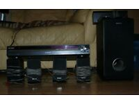Sony STR-KS1200 home cinema system. Fully working, with remote all speakers and subwoofer.