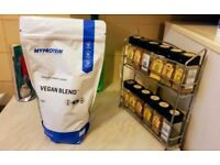 MyProtein Vegan Protein Chocolate 1 KG BRAND NEW SEALED UNOPENED Muscle Building Fat Loss