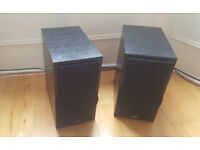 Big Eltax stereo speakers in immaculate condition. Delivery options available.