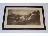 Picture - Print - Artist G H Mason ARA Picture Frame Art 'Painting' Tate Decorative