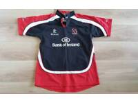 immaculate heavy quality ulster rugby shirt. xl 44 inch chest. geab a bargain
