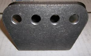 "H/D 4 HOLE MOUNTING PLATE 1/4"" THICK ,SHOCKS, TRAC ARMS, 4 LINK, Belleville Belleville Area image 3"