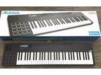 Alesis Midi Controller Keyboard VI61 / DAW Controller (with Pads like Ableton Push, AKAI MPC)