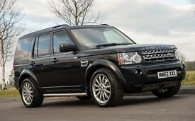 "Land Rover Discovery 4 Commercial 2012 Black SDV6 - 20"" Overfinch Wheels - Custom Bulkhead and Shelf"