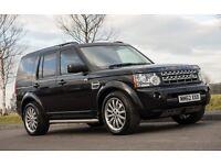 "Land Rover Discovery 4 Commercial 2012 Black SDV6 - 20"" Overfinch Wheels - Custom Bulkhead and Shelf"