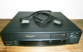 Tested* PANASONIC NV-SD30B HQ Super-Drive Video-Plus+ 3-Head VHS Player Recorder