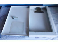 Chubb valuable A4 size document safe with two keys, quick sale at only £25