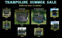 Huge Trampoline Summer Sale! 7 Diff Sizes Call 647 728 7977