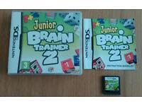 Nintendo ds - junior brain trainer 2