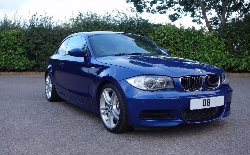 bmw 135i coupe lemans blue fsh fresh mot great condition with massive specification in. Black Bedroom Furniture Sets. Home Design Ideas