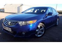 2009 HONDA ACCORD ES GT I-DTEC Blue, Serviced + mot'd Washed/Waxed Loved Example £140 TAX 2.2 DIESEL