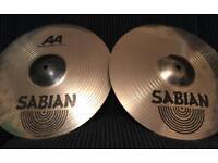 """Sabian AA Metal-X Hi-hats 14"""""""