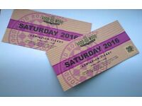 Goodwood Revival Saturday 2016 tickets x2 £140 EACH