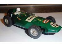 GENUINE AIRFIX VANWALL F1 RACING CAR-1:32-ALL ORIGINAL DECALS-ORIGINAL CONDITION