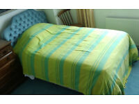 Firm large single bed 1350x1900, Restmaker Myer's, hardly used