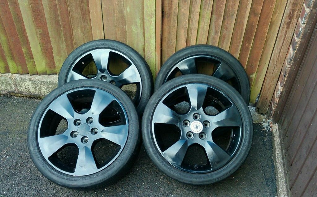 Vauxhall 17 Quot Inch Alloy Wheels Set Of 4 Astra Coupe Turbo Gsi Vectra Sri Black In Great