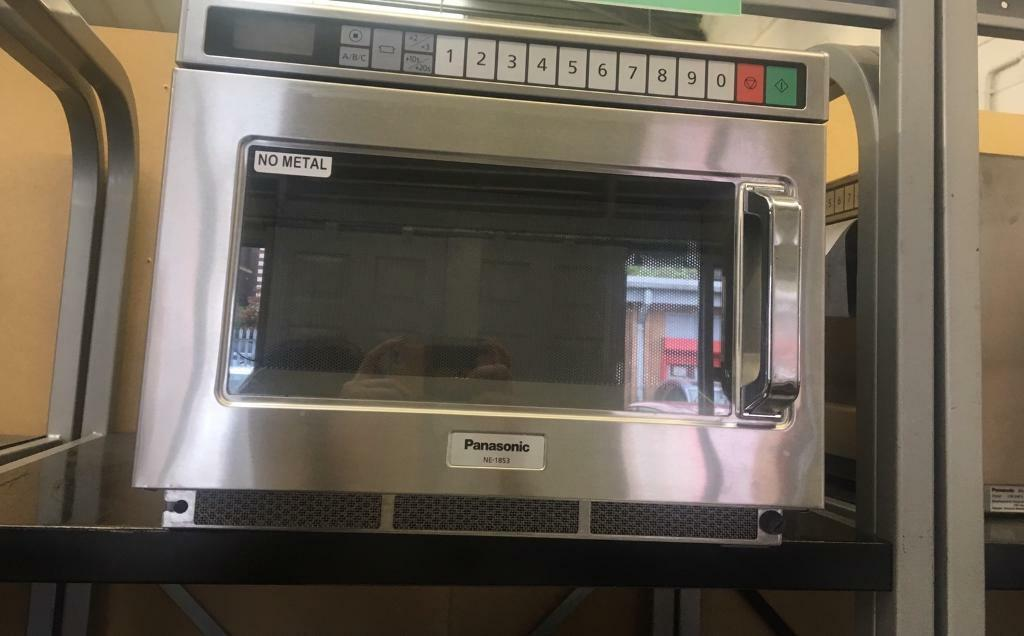 Refurbished Panasonic NE1853 Commercial Microwave Oven | in Chorlton,  Manchester | Gumtree