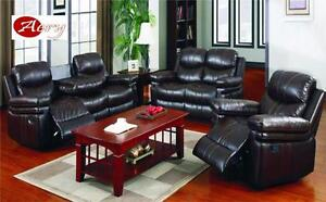 RECLINER SOFA SET ON HUGE SALE!!!!!!!!!!!!!!CALL 4167437700