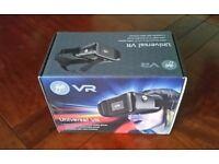 Goji universal VR headset.