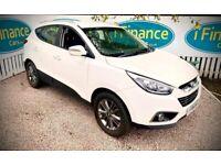 CAN'T GET CREDIT? CALL US! Hyundai ix35 1.7 CRDi SE (NAV), 2013, Manual - £200 DEPOSIT, £59 PER WEEK