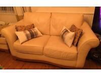 Natuzzi Leather Sofas bargain £100