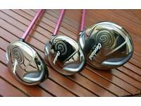 Cleveland Ladies Wood Set - Driver 5w 7w