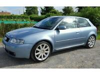 2003 AUDI S3 1.8T 225, ONE PREVIOUS OWNER, LONG MOT