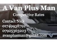 A Van plus Man