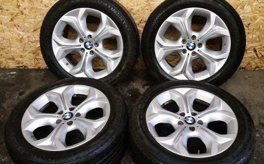 """BMW X5 2012 19"""" ALLOY RIMS & TYRES"""