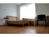 Spacious Double room for single use, 2 weeks deposit. No fees needed!! Contact Now!