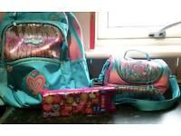 School & lunch bag