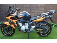 Yamaha FZ6 Fazer 2005, 23k miles, MOT 7/2018, great condition, history, 3 keys,not Bandit Hornet CBF
