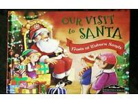 Our visit to Santa Christmas book