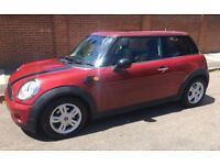 2008 AUTOMATIC 1.4 MINI ONE PANORAMIC ELECTRIC ROOF LONG MOT LOW INSURANCE AND ROAD TAX GROUP AUTO